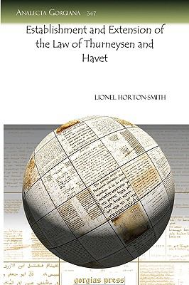 Establishment and Extension of the Law of Thurneysen and Havet