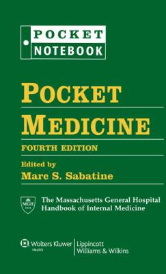 Pocket Medicine: The Massachusetts General Hospital Handbook of Internal Medicine (Pocket Notebook Series)