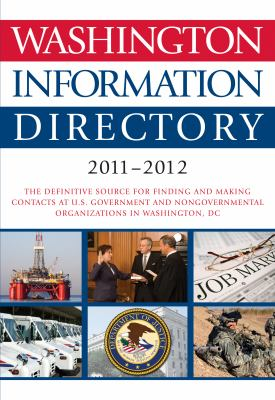 Washington Information Directory 2011-2012