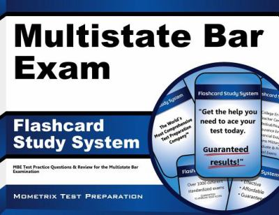 Multistate Bar Exam Flashcard Study System: MBE Test Practice Questions & Review for the Multistate Bar Examination