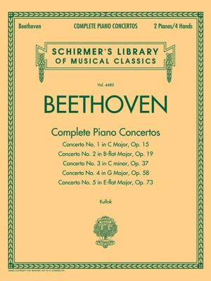 Complete Piano Concertos: Schirmer's Library of Musical Classics Vol. 4480 Two Pianos, Four Hands