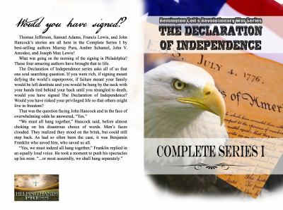 Remington Colt's Revolutionary War Series - the Declaration of Independence - Complete Series I