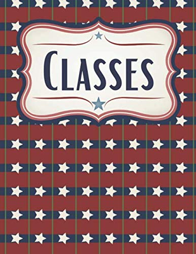 American Stars Patriotic School Planner and Study Aid: Course Planner and Homework Companion for Patriots, America Lovers, and Political Science Majors