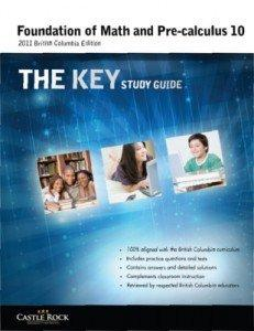 Foundation of Math and Pre-calculus the Key Study Guide