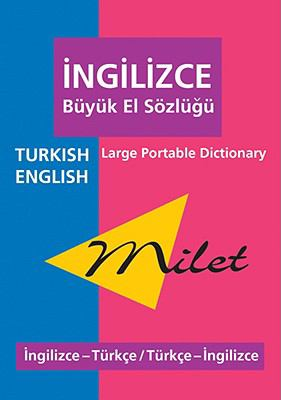Milet Large Portable Dictionary Turkish-english / English-turkish
