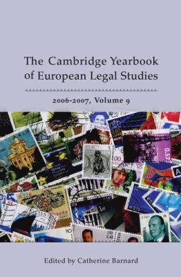 Cambridge Yearbook of European Legal Studies 2006 - 2007