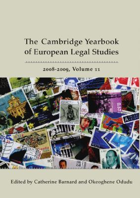 Cambridge Yearbook of European Legal Studies 2008-2009