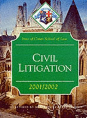 Civil Litigation (Inns of Court Bar Manuals)