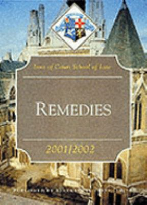 Remedies (Inns of Court Bar Manuals)