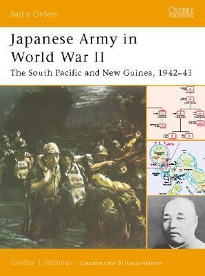 Japanese Army in World War II The South Pacific And New Guinea, 194243