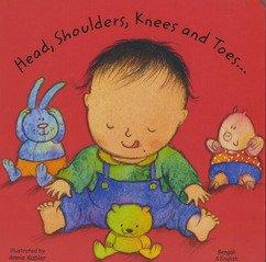 Head, Shoulders, Knees and Toes in Bengali and English (Board Books) (English and Bengali Edition)