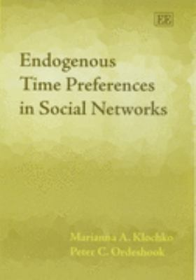 Endogenous Time Preferences in Social Networks