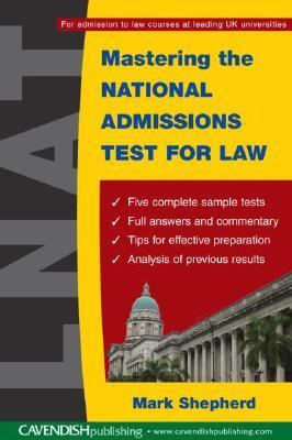 Mastering the National Admissions Test for Law - Mark Shepherd - Paperback