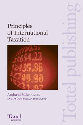 Principles of Internationaltaxation