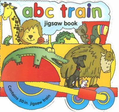 ABC Train Jigsaw Book