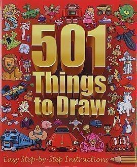 501 Things to Draw: Easy Step-by-Step Instructions