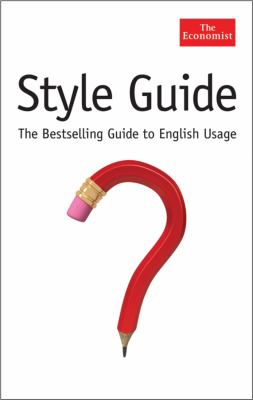 The Economist Style Guide, Tenth Edition