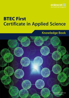 Btec First Certificate in Applied Scienc