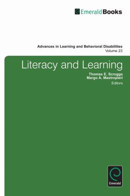 Literacy and Learning (Advances in Learning & Behavioral Disabilities) (Advances in Learning and Behavioral Disabilities)