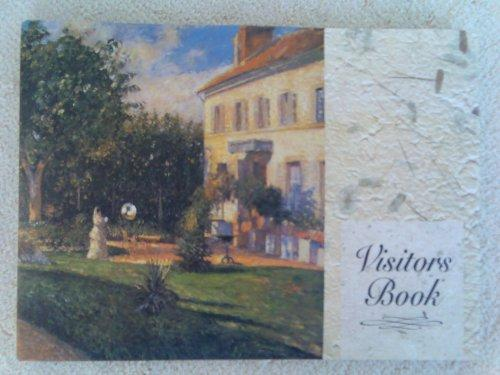 VISITOR's BOOK by Montague House - with stunning classic art masterpiece images on each page