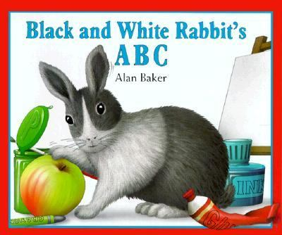 Black and White Rabbit's ABC, Vol. 3 - Alan Baker - Hardcover