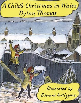Child's Christmas in Wales - Dylan Thomas - Hardcover