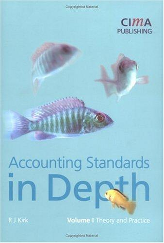 accountancy standards in Depth, Fourth Edition (Cima Student Handbook) (v. 1)