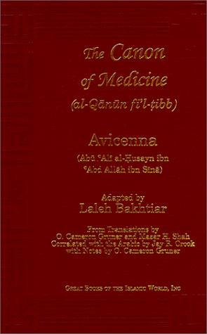 Avicenna Canon of Medicine Volume 1