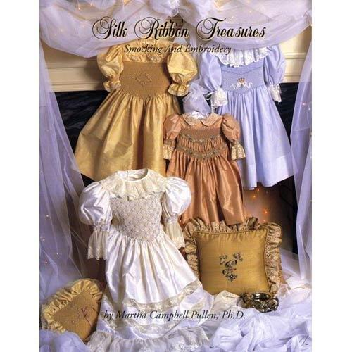 Silk Ribbon Treasures: Smocking & Embroidery.