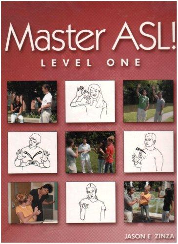 Master ASL - Level One (with DVD)