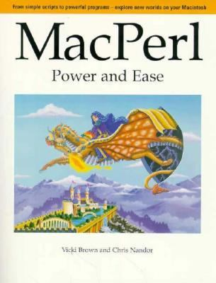 Macperl: Power and Ease - Vicki Brown - Paperback - BK&CD ROM