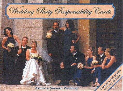 Wedding Party Responsibility Cards