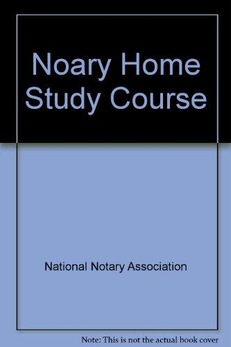 Notary Home Study Course