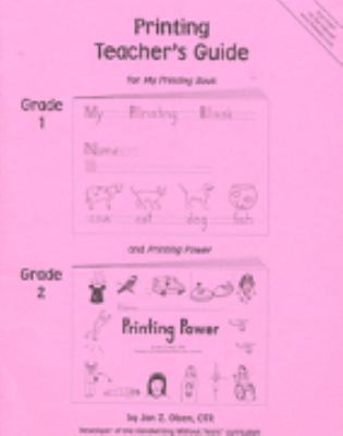 Printing Teacher's Guide