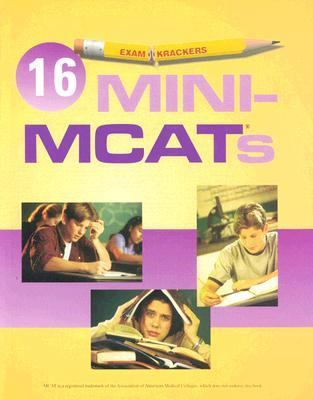 Examkrackers 16 Mini Mcat's