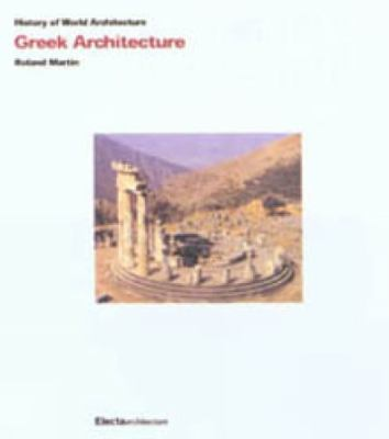 Greek Architecture History of World Architecture