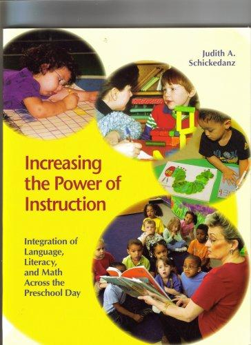Increasing the Power of Instruction Integration of Language, Literacy, and Math Across the Preschool Day