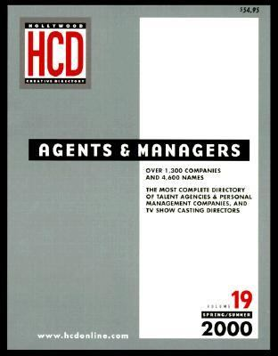 Agents and Managers Directory, Vol. 19