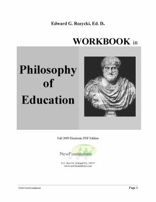 Workbook in Philosophy and History of Education