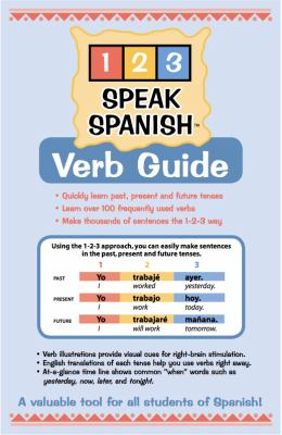 1-2-3 Speak Spanish Verb Guide