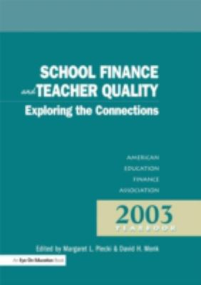 School Finance and Teacher Quality