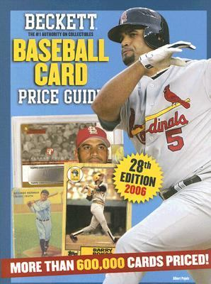 Beckett Baseball Card Price Guide