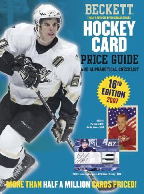Beckett Hockey Card Price Guide And Alphabetical Checklist 2007