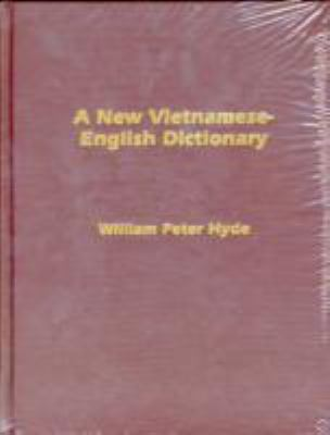 A New Vietnamese-English Dictionary (Vietnamese Edition)