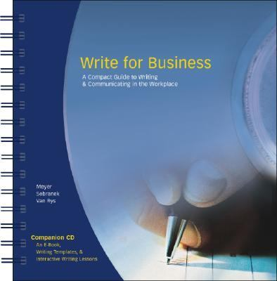 Write for Business-w/cd