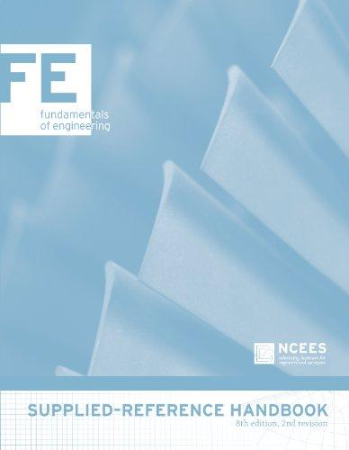FE Supplied-Reference Handbook, 8th edition, 2nd revision