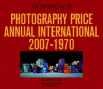 Gordon's Photography Price Annual International CD 2007-1970