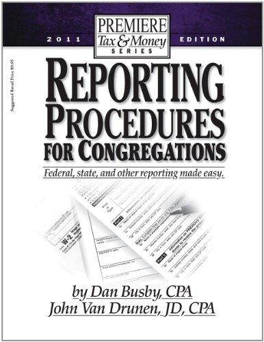 Reporting Procedures for Congregations