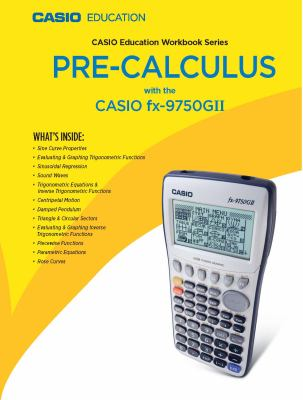 Casio Education Workbook Series, Pre-Calculus