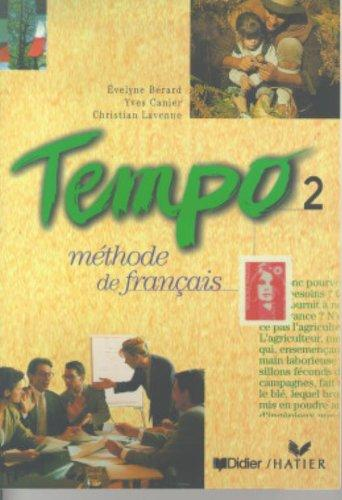 Tempo 2: Methode de Francais (French Edition)